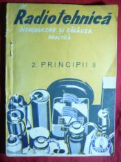 Radiotehnica- vol.II -Principii -Georgescu-Gorjan-Colectia Practica ,interbelic foto
