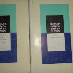 FILOSOFIA GREACA PANA LA pLATON VOL.1 PARTEA 1+2 an 1979./1093pag.