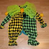 Costum de carnaval serbare clovn pentru copii de 1-2 ani - Costum Halloween, Marime: Masura unica, Culoare: Din imagine