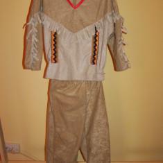 Costum de carnaval serbare indian pentru copii de 5-6 ani - Costum Halloween, Marime: Masura unica, Culoare: Din imagine