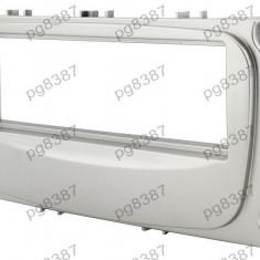 Rama adaptoare Ford Focus, C-Max, Galaxy, Mondeo, S-Max, argintiu, 1 DIN-000481