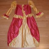 Costum de carnaval serbare regina printesa pentru copii de 12-13-14 ani - Costum Halloween, Marime: Masura unica, Culoare: Din imagine