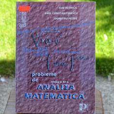 Carte - Analiza matematica probleme de clasa a XI-a - Ion Petrica ( Vol.1 ) #246 - Carte Matematica