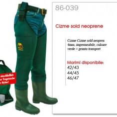 Cizme sold neopren Behr + Rucsac Transport Culoare Verde - Incaltaminte Pescuit Behr, Marime Incaltaminte: 42, 43, 44, 45, 46, 47, Vader