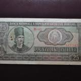 Romania - 25lei 1966 vF - Bancnota romaneasca
