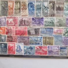 TIMBRE ITALIA LOT STAMPILAT 42 BUC STAMPILATE