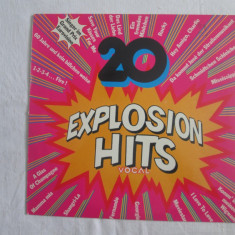 Various - 20 Explosion Hits vocal _ vinyl, LP, Germania - Muzica Pop Altele, VINIL