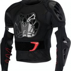 MXE Geaca Protectie corp Alpinestars Bionic Tech culoare Negru/Alb/Rosu Cod Produs: 27020175PE - Protectii moto