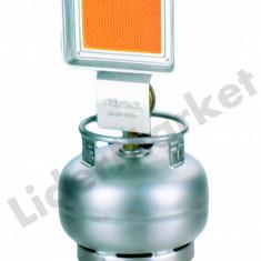 Soba ceramica pe gaz pentru camping cu ceas si sistem prindere inclus - Aragaz/Arzator camping
