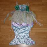 Costum carnaval serbare ariel pentru copii de 5-6 ani - Costum Halloween, Marime: Masura unica, Culoare: Din imagine