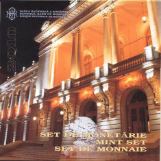 SET MONETARIE 2010 - 150 ANI DE LA INFIINTAREA UNIV.ALEXANDRU IOAN CUZA DIN IASI - Moneda Romania