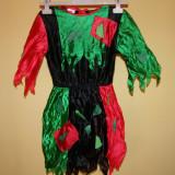 Costum de carnaval serbare copac pentru fete de 9-10 ani - Costum Halloween, Marime: Masura unica, Culoare: Din imagine