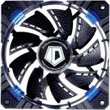 Ventilator ID-Cooling Concentric Circular 120 mm Blue LED - Cooler PC