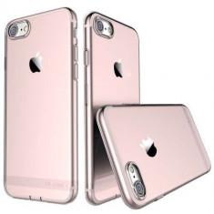 Husa iPhone 7 Flexibila USAMS Series Roz Gold - Sticker Telefon