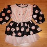 Costum de carnaval serbare pisica pentru copii de 7-8 ani - Costum Halloween, Marime: Masura unica, Culoare: Din imagine