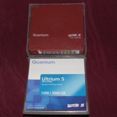 Cartus de date/Data Cartridge Quantum Ultrium 5 - 1500/3000 GB - Server de stocare