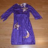 Costum de carnaval serbare magician pentru copii de 3-4 ani - Costum Halloween, Marime: Masura unica, Culoare: Din imagine