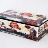 Cutie Bijuterii din Sticla - London - Produs Nou