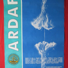 Afis Ardaf asigurari Cluj-Napoca, afis vechi ARDAF