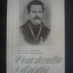 ANA MARIA POPESCU, AL. MACHEDON - CONSTANTIN ARISTIA - Biografie