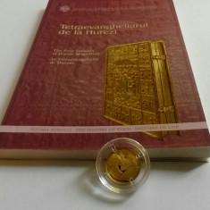MONEDA AUR - TETRAEVANGHELIARUL DE LA HUREZI (SERIA ISTORIA AURULUI) - Moneda Romania, An: 2013