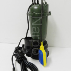 Pompa apa murdara din fonta cu Cutit Tocator 3150W - Pompa gradina, Pompe submersibile, de drenaj