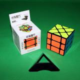 Cub Rubik - YJ 3x3x3 Fisher cube - YiLeng v2 + Stand pentru cub (vezi foto)