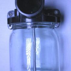 Un borcan de aspirator vopsit pulverizator pistol zugravit functional
