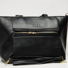 Geanta / Poseta de umar sau mana Zara - + Cadou Surpriza - Geanta Dama Zara, Culoare: Din imagine, Marime: One size, Geanta de umar, Asemanator piele