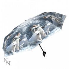Umbrelă cu lupi Gardienii iernii - Umbrela Copii