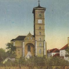 Carte postala CP AB028 Alba Iulia  - Catedrala romano-catolica- necirculata