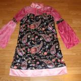 Costum de carnaval serbare chinezoaica pentru copii de 10-11-12 ani - Costum Halloween, Marime: Masura unica, Culoare: Din imagine