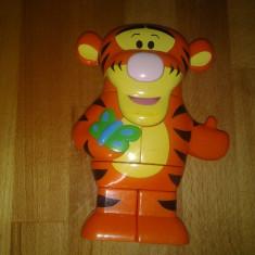 Mega Block, Tigger muzical, Winnie the Pooh, 18 x 13 x 5 cm - Masinuta Disney