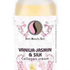 Crema de masaj cu vanilie, iasomie si collagen 250ml