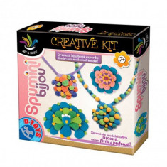 Joc Creativ Spumini Bijou - Jocuri arta si creatie D-Toys