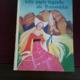 Elena S. Tessadri Cele sapte legende ale Dolomitilor, ilustr. Adriana Pedron - Carte Basme