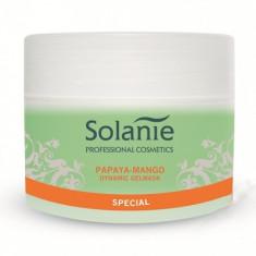 Solanie - Masca gel papaya mango pentru ten uscat 250 ml