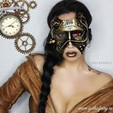 Masca steampunk Steam Phantom - Costum petrecere copii