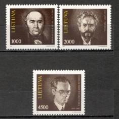 Lituania.1993 Personalitati KX.253 - Timbre straine, Nestampilat