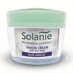 Solanie - Crema niacina pentru ten gras 50 ml