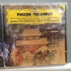 PUCCINI -TURANDOT cu KARAJAN(1982/POLYDOR/GERMANY) - CD ORIGINAL/Sigilat/Nou - Muzica Opera universal records