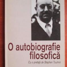O autobiografie filosofica  / R. G. Collingwood