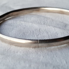 Bratara argint Catusa simpla VECHE finuta delicata Eleganta de Efect vintage