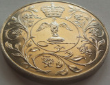 Moneda Comemorativa Anglia- anul 1977 *cod 4586 UNC - 28,32 grame!, Europa, Cupru-Nichel