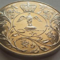 Moneda Comemorativa Anglia- anul 1977 *cod 4586 UNC - 28, 32 grame!, Europa, Cupru-Nichel