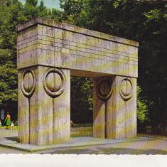 Bnk cp Targu Jiu - Brancusi - Poarta sarutului - necirculata - Kruger 1140/3 - Carte Postala Oltenia dupa 1918, Printata
