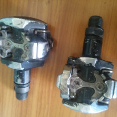 Pedale SPD Shimano PD-M505, Pedale/placute