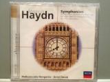 HAYDN - SYMPHOINY no 94,100,101(1974/DECCA/GERMANY) - CD ORIGINAL/Sigilat/Nou, decca classics