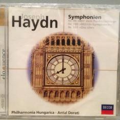 HAYDN - SYMPHOINY no 94, 100, 101(1974/DECCA/GERMANY) - CD ORIGINAL/Sigilat/Nou - Muzica Clasica decca classics