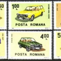 1983 Romania, LP 1076-Automobile romanesti-MNH - Timbre Romania, Nestampilat